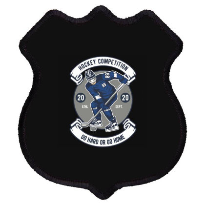 Hockey Competition Shield Patch Designed By Rulart