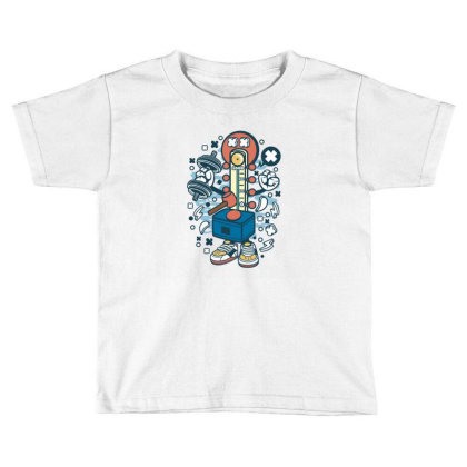 Hitting Hammer Toddler T-shirt Designed By Rulart