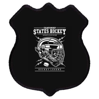 Hockey 4 Shield Patch Designed By Rulart