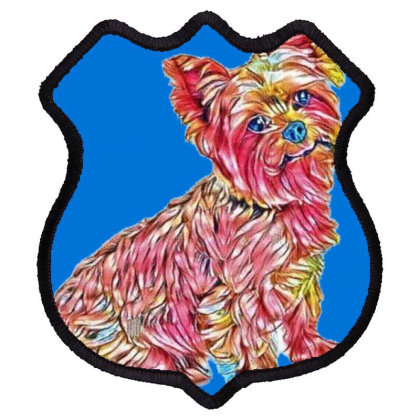 A Hungry Looking Yorkshire Te Shield Patch Designed By Kemnabi