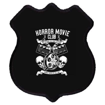 Horror Movie Club Shield Patch Designed By Rulart
