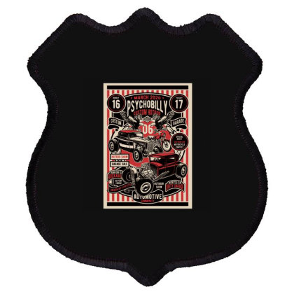Hot Rod Shield Patch Designed By Rulart