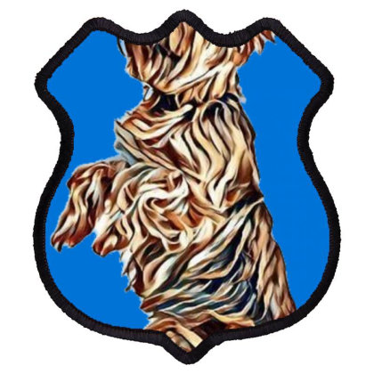 A Very Attentive Yorkshire Te Shield Patch Designed By Kemnabi