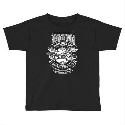 Iguana Toddler T-shirt Designed By Rulart