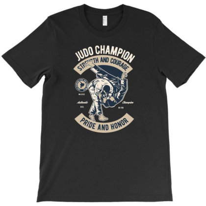 Judo T-shirt Designed By Rulart