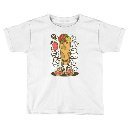 Kebab Toddler T-shirt Designed By Rulart