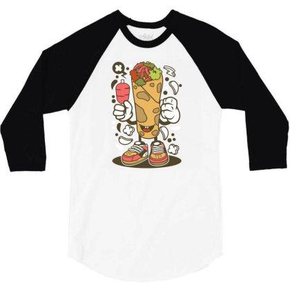 Kebab 3/4 Sleeve Shirt Designed By Rulart