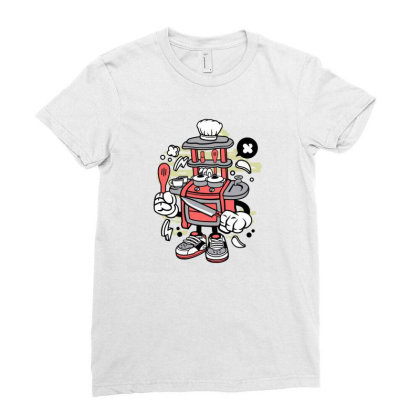 Kitchen Set Toys Ladies Fitted T-shirt Designed By Rulart