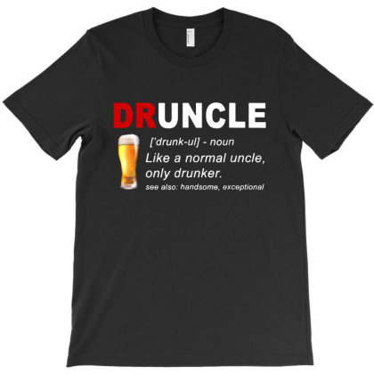 Druncle Beer T-shirt Designed By Diamond Tees