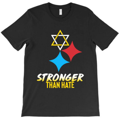 Stronger Than Hate T-shirt Designed By Diamond Tees