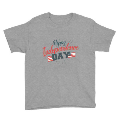 Independence Day Youth Tee Designed By Bakari10