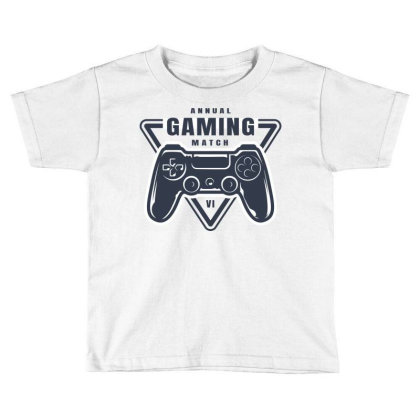 Annual Gaming Match Toddler T-shirt Designed By Estore