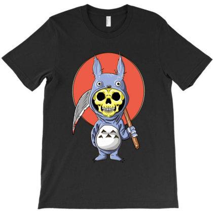 Anime Skeleton T-shirt Designed By Mrt90