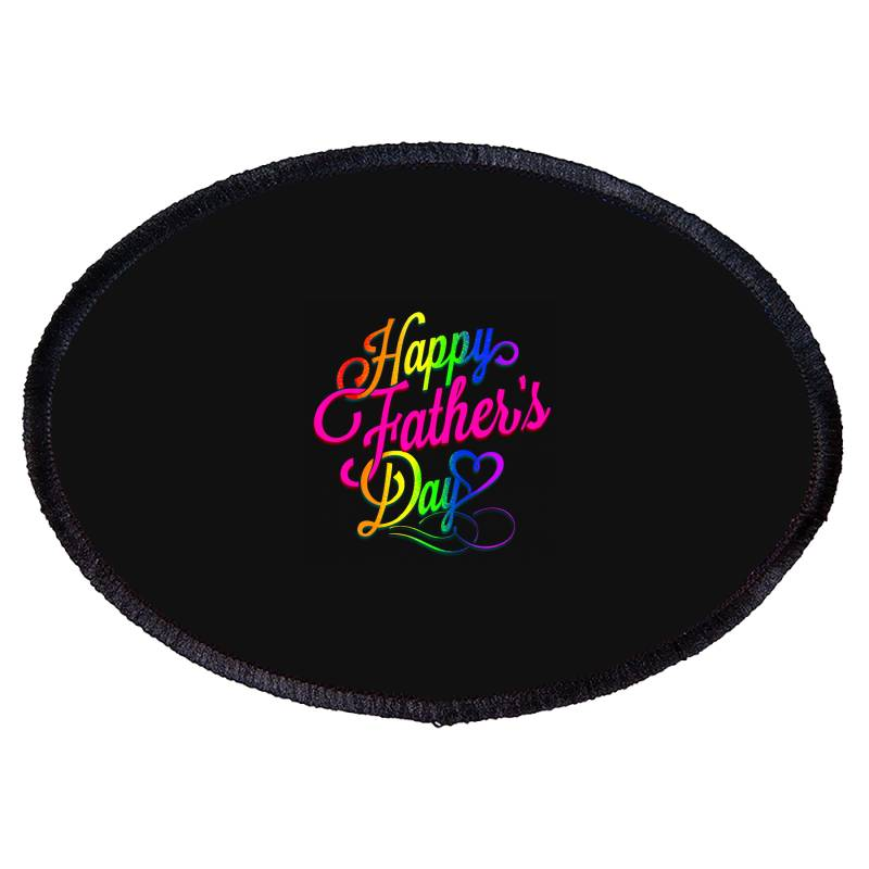 Happy Father Day 2020 Gay Oval Patch | Artistshot