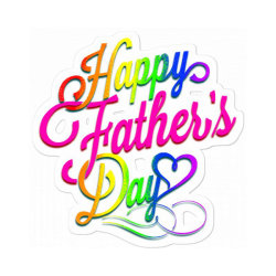 Happy Father Day 2020 Gay Sticker Designed By Babydoll