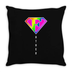 happy father day pride Throw Pillow | Artistshot