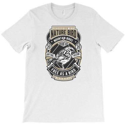 Nature Bird T-shirt Designed By Rulart