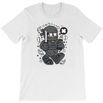 Ninja Kid T-shirt Designed By Rulart