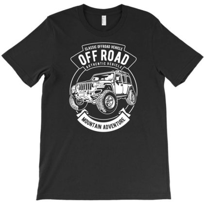 Off Road Car T-shirt Designed By Rulart