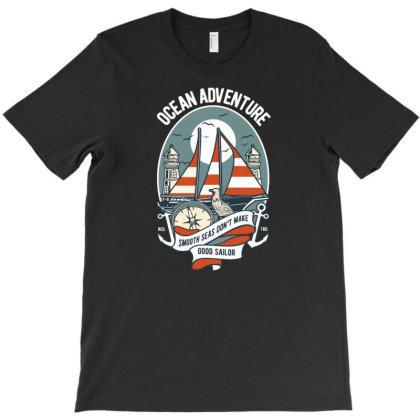 Ocean Adventure T-shirt Designed By Rulart