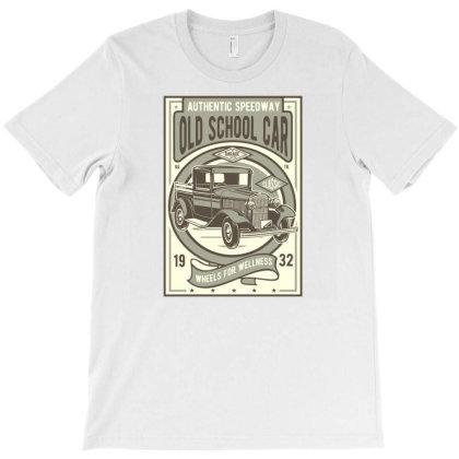 Old School Car T-shirt Designed By Rulart