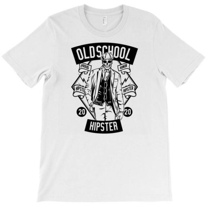 Old School Hipster T-shirt Designed By Rulart