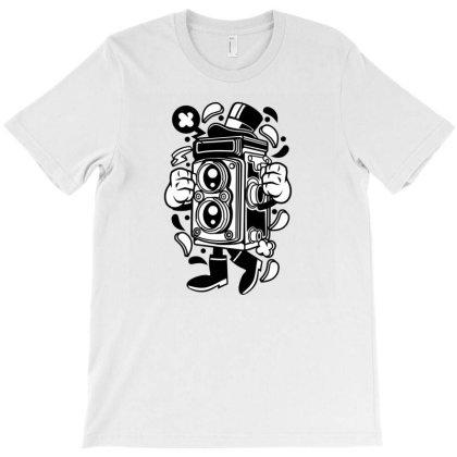 Old School Camera T-shirt Designed By Rulart