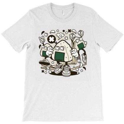 Onigiri T-shirt Designed By Rulart