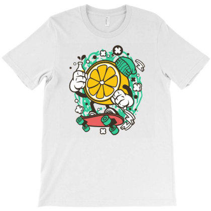 Orange T-shirt Designed By Rulart