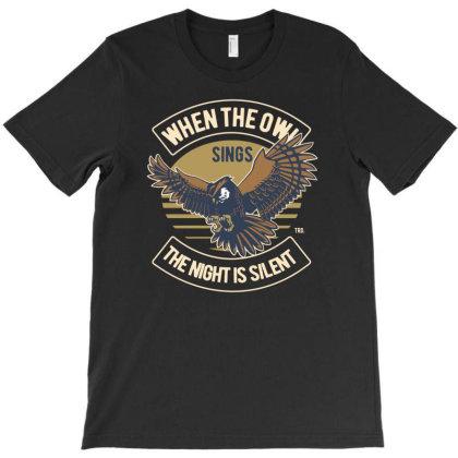 Owl Premium T-shirt Designed By Rulart