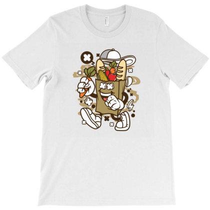 Paper Bag T-shirt Designed By Rulart