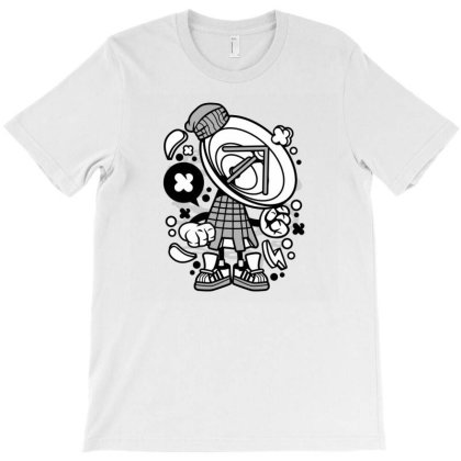 Parabolic Antenna T-shirt Designed By Rulart