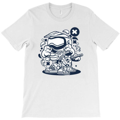 Paintball T-shirt Designed By Rulart