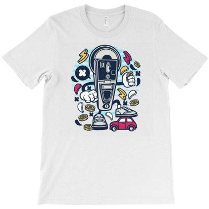 Parking Meter T-shirt Designed By Rulart
