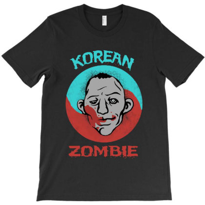 The Korean Zombie T-shirt Designed By Diamond Tees