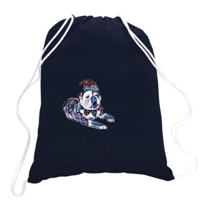 A Funny Photo Of An English B Drawstring Bags Designed By Kemnabi