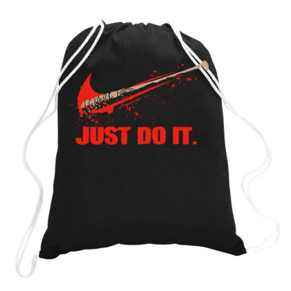 Just Do It Drawstring Bags Designed By Diamond Tees