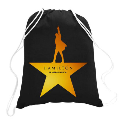 Golden Musical Drawstring Bags Designed By Diamond Tees