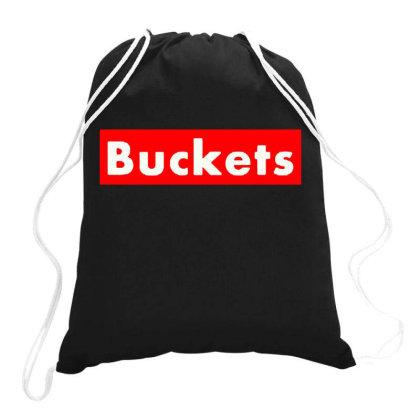 Buckets Basketball Drawstring Bags Designed By Feniavey