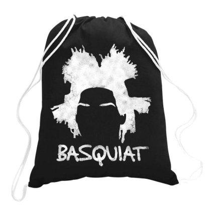 Basquiat Jean Michel For Dark Drawstring Bags Designed By Feniavey