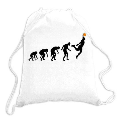 Basket Evolution In Black Drawstring Bags Designed By Feniavey