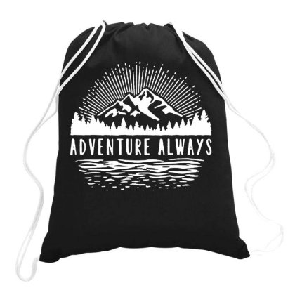 Outdoors Drawstring Bags Designed By Pinkanzee