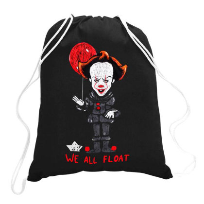 We All Float Drawstring Bags Designed By Pinkanzee