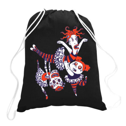 Anyone Can Dance! Drawstring Bags Designed By Feniavey