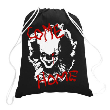 Two Come Home Drawstring Bags Designed By Pinkanzee