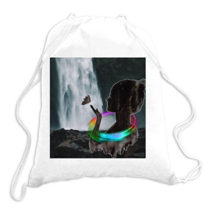 Peace Drawstring Bags Designed By Kumuda