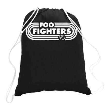 Foo White Style Drawstring Bags Designed By Pinkanzee