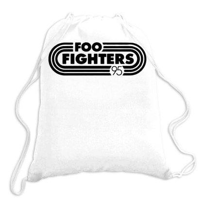 Foo Black Style Drawstring Bags Designed By Pinkanzee