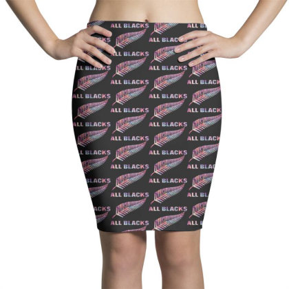 All Blacks Pencil Skirts Designed By Pinkanzee