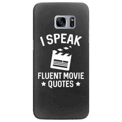 I Speak Fluent Movie Quotes Samsung Galaxy S7 Edge Case Designed By Pinkanzee